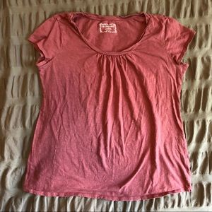 Rose-Colored Maternity T-Shirt